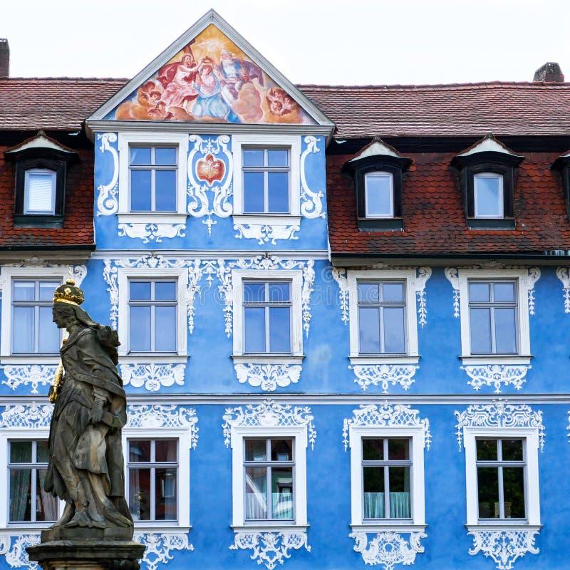 BAMBERGA, Alemanha - cidade medieval famosa de Bamberga no destino do turista de Baviera Franconia fotos de stock