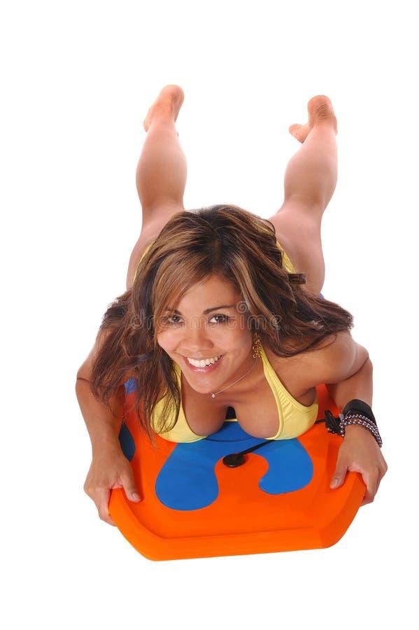 Download Bambina 6 Della Scheda Di Boogie Immagine Stock - Immagine di sopra, sport: 205861