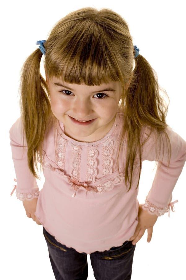 Bambina adorabile immagini stock