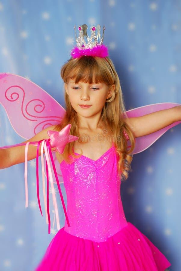 Bambina come fairy fotografia stock