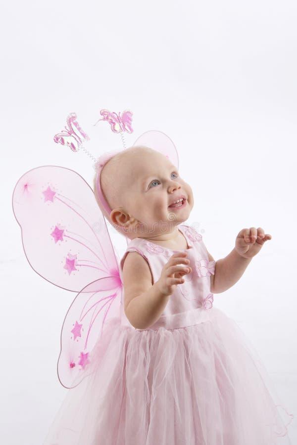 Bambina in costume leggiadramente immagine stock