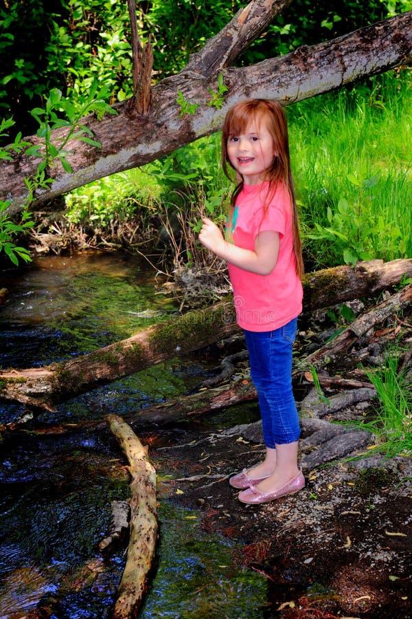 Download Bambina da insenatura fotografia stock. Immagine di paese - 55356980