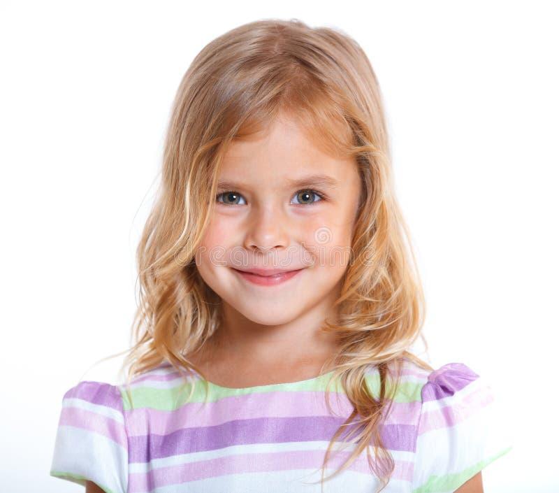 Bambina del ritratto fotografie stock