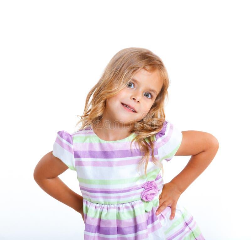 Bambina del ritratto immagine stock