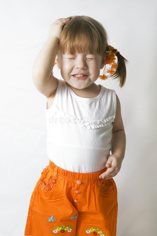 Bambina di divertimento. immagini stock libere da diritti