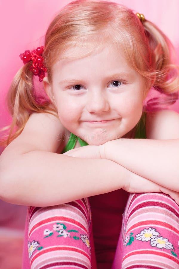 Bambina di sorriso immagine stock libera da diritti