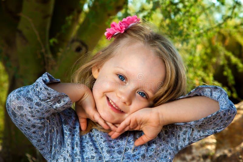 Bambina dolce fotografie stock