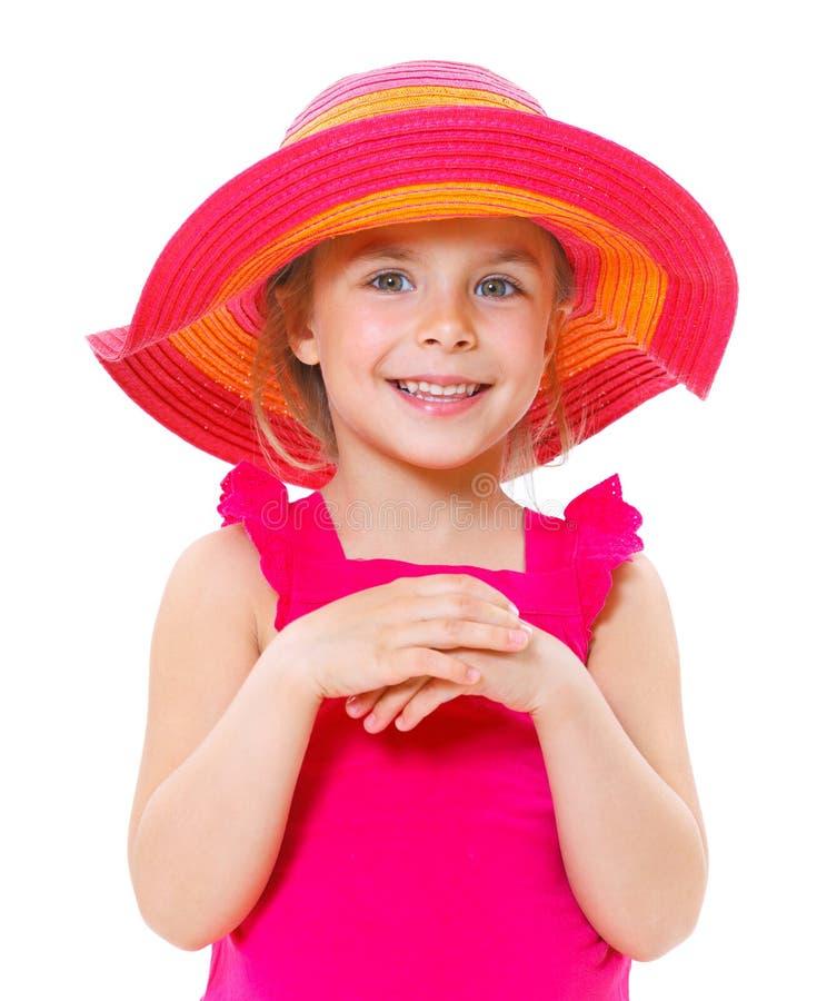 Bambina graziosa immagine stock