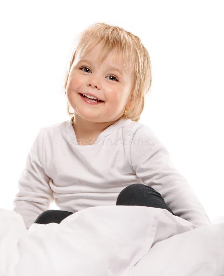 Bambina nella base fotografia stock libera da diritti