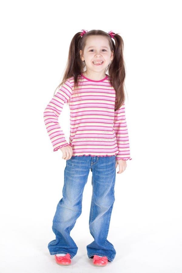 Bambina sveglia fotografia stock
