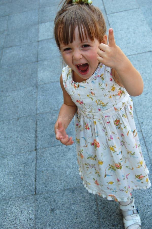 Bambina sveglia fotografia stock libera da diritti