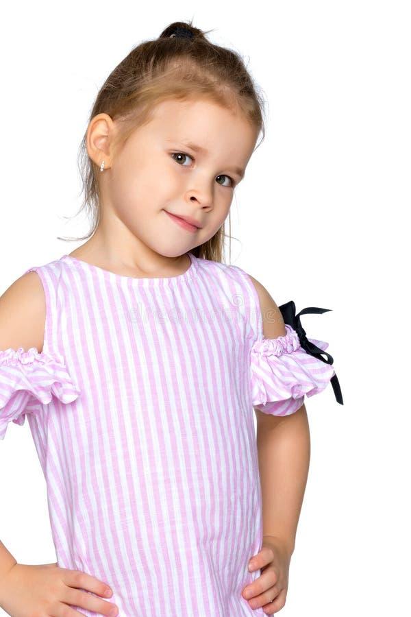 Bambina triste immagini stock libere da diritti