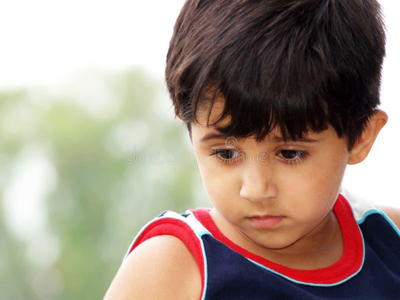 Download Bambina triste fotografia stock. Immagine di triste, melancholic - 3136098