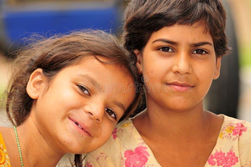 Bambine sorridenti immagini stock libere da diritti