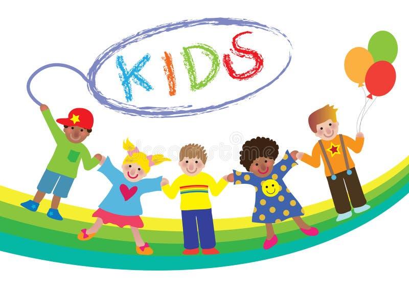 Bambini illustrazione di stock