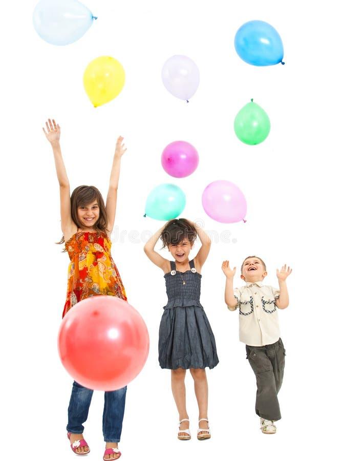 Bambini ad un partito fotografia stock