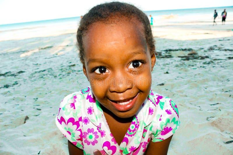 Bambini dal villaggio di jambiani a Zanzibar immagine stock libera da diritti