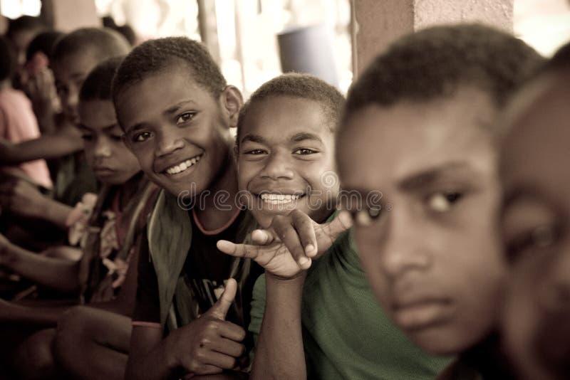 Bambini del banco fotografie stock
