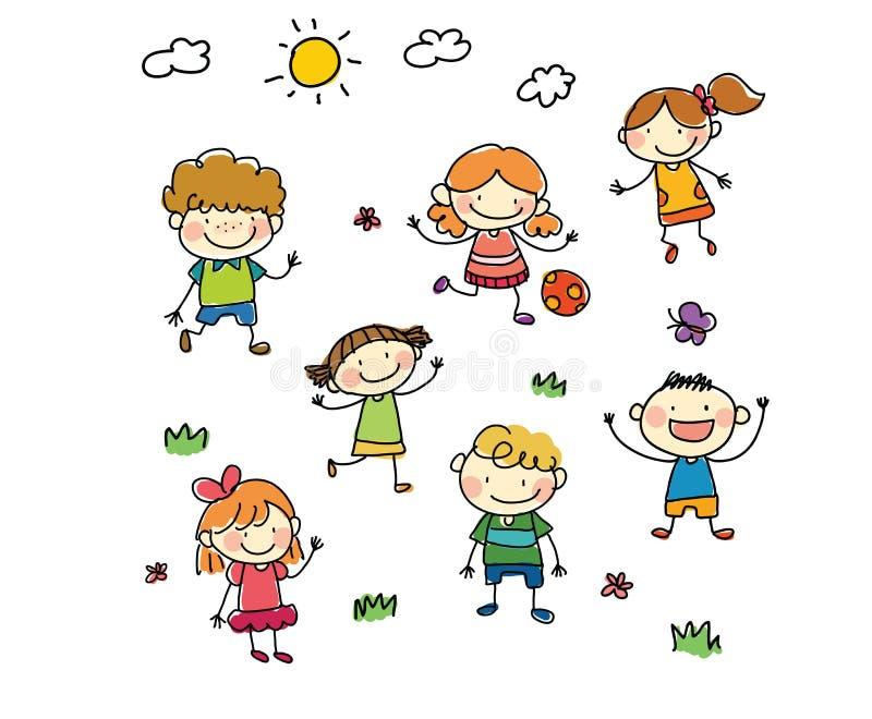 Bambini del disegno fotografie stock