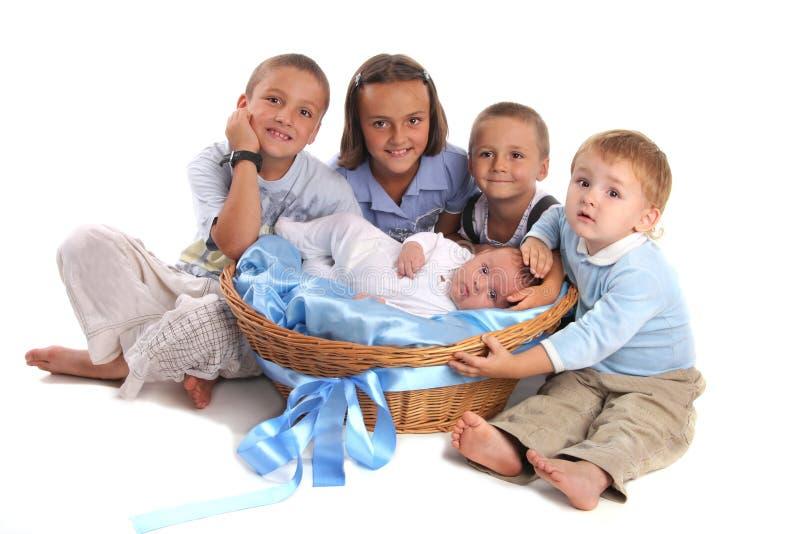 Bambini del gruppo immagini stock