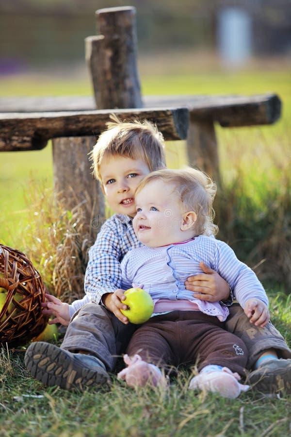 Bambini del paese immagine stock