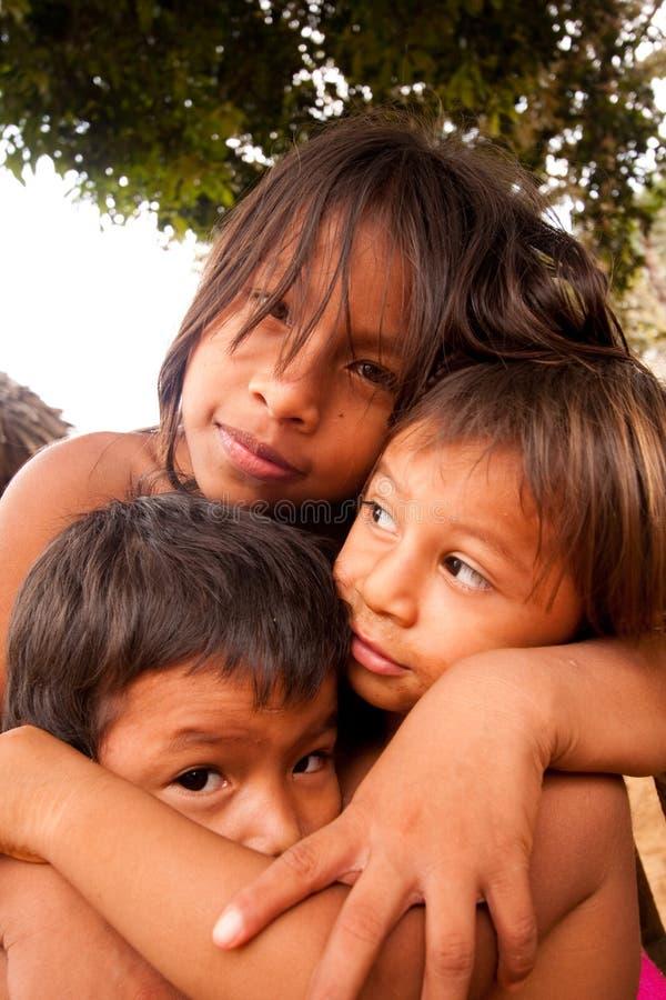 Bambini di Embera immagine stock