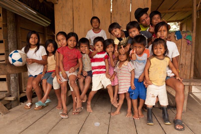 Bambini di Puni Bocana immagine stock