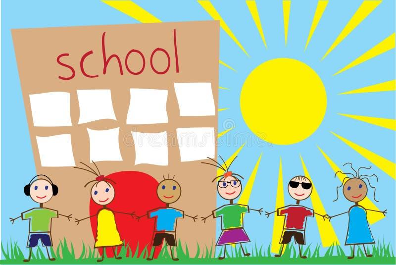 Bambini divertenti royalty illustrazione gratis