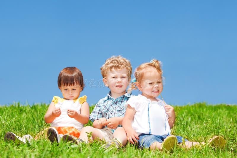 Bambini divertenti fotografie stock