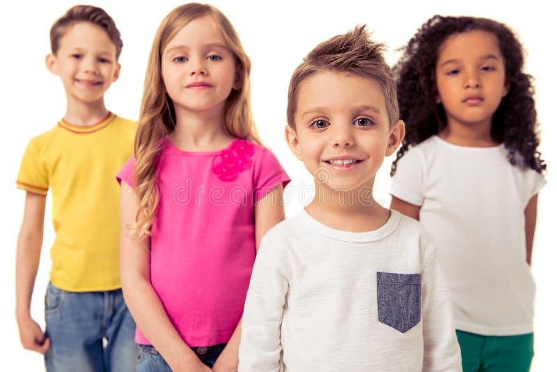 Bambini divertenti svegli immagine stock libera da diritti