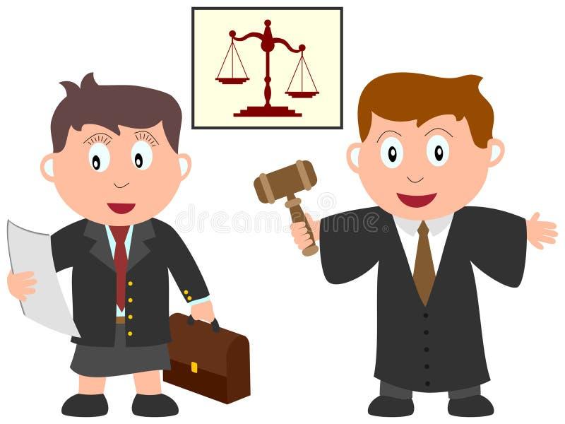 Bambini e job - legge illustrazione vettoriale