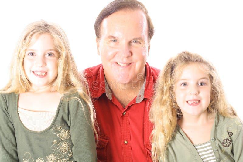 Download Bambini e zio felici immagine stock. Immagine di bambini - 3883841