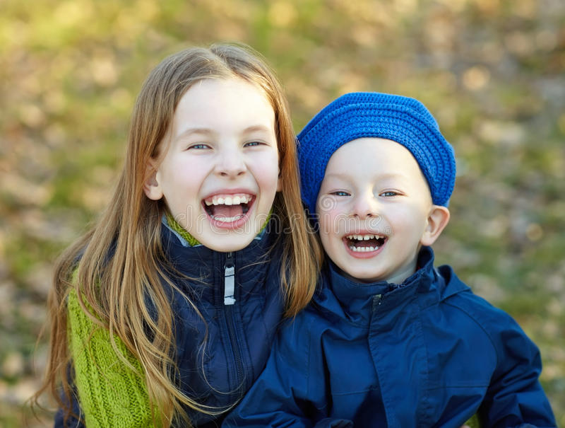 Bambini felici di stile di vita immagine stock libera da diritti