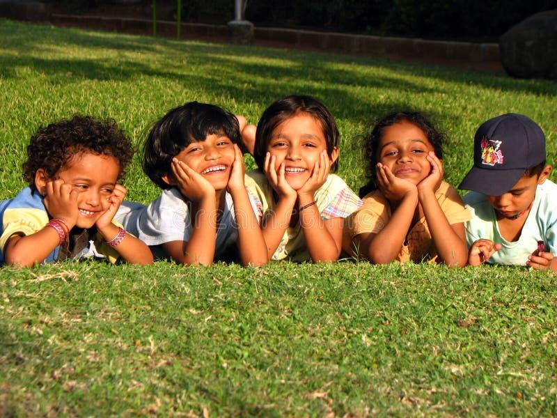 Bambini indiani svegli fotografia stock