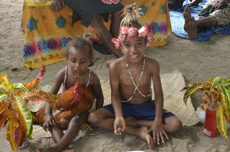 Bambini indigeni fotografie stock