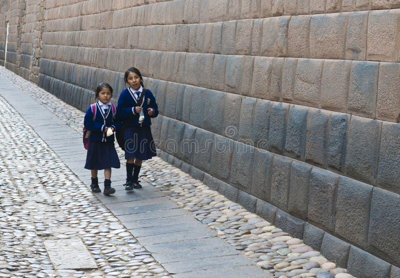 Bambini peruviani immagini stock libere da diritti