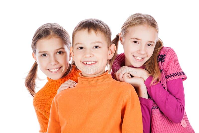 Bambini piccoli di risata fotografie stock