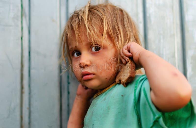Bambini poveri fotografia stock libera da diritti