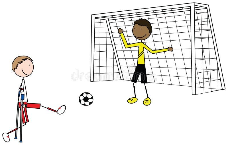 Bambini speciali illustrazione vettoriale