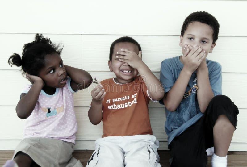 Bambini vari fotografia stock libera da diritti