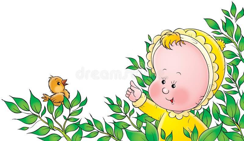 Bambino 028 illustrazione vettoriale