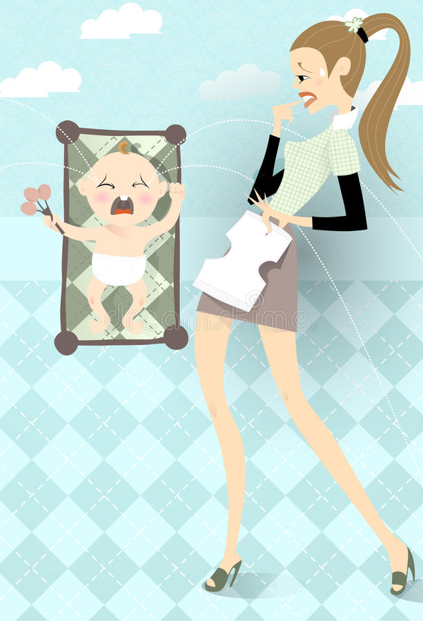 Bambino illustrazione vettoriale