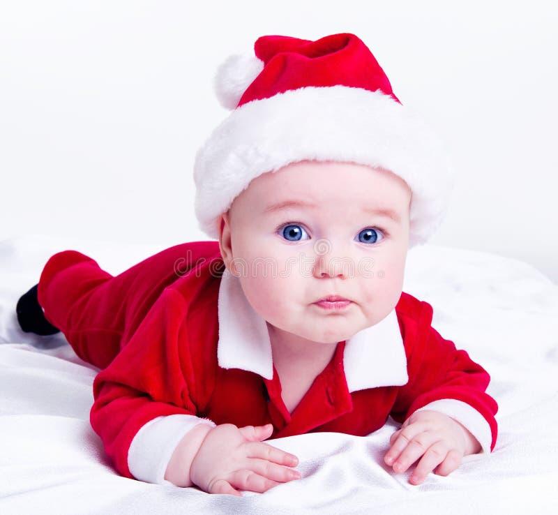 Bambino adorabile della Santa immagine stock