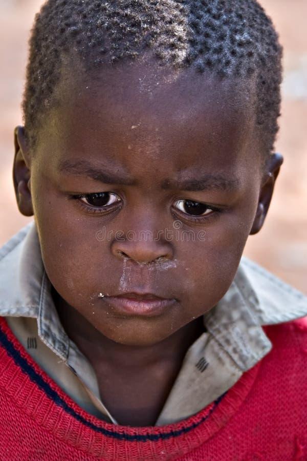 Bambino africano immagini stock