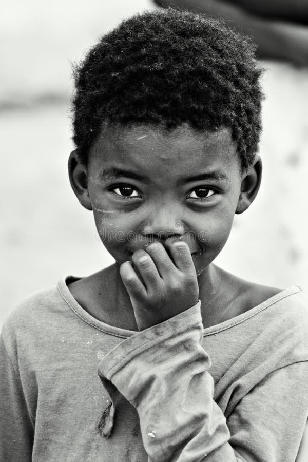 Bambino africano fotografia stock