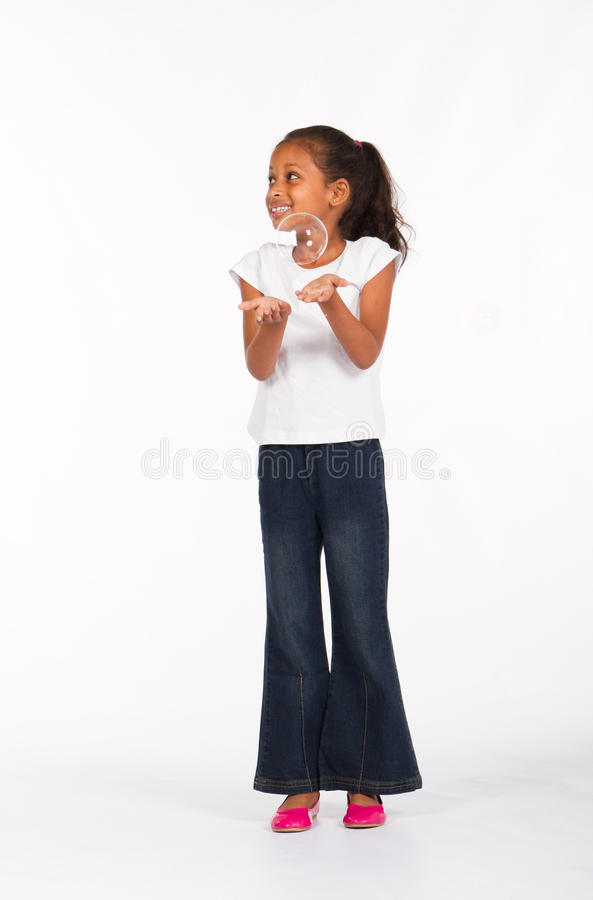 Bambino africano dolce fotografie stock libere da diritti