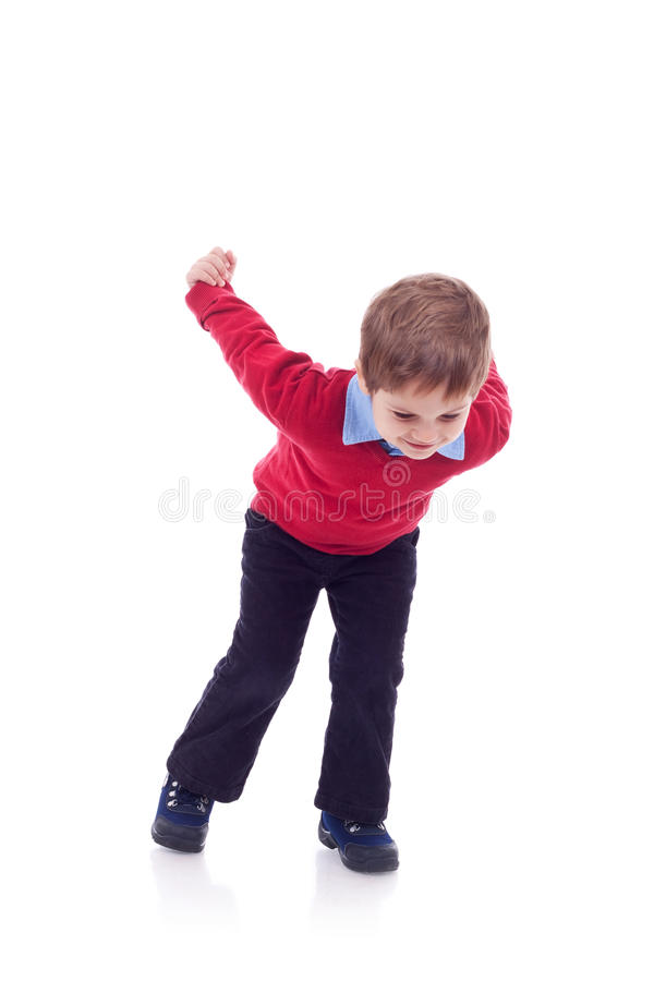 Bambino allegro immagine stock libera da diritti