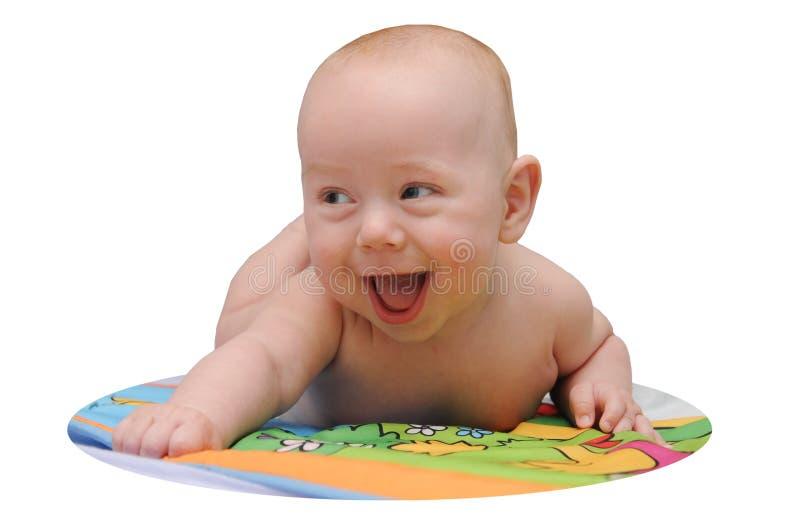 Bambino allegro felice immagini stock