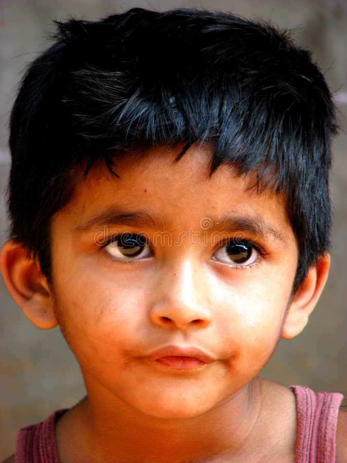 Bambino ansioso fotografia stock libera da diritti