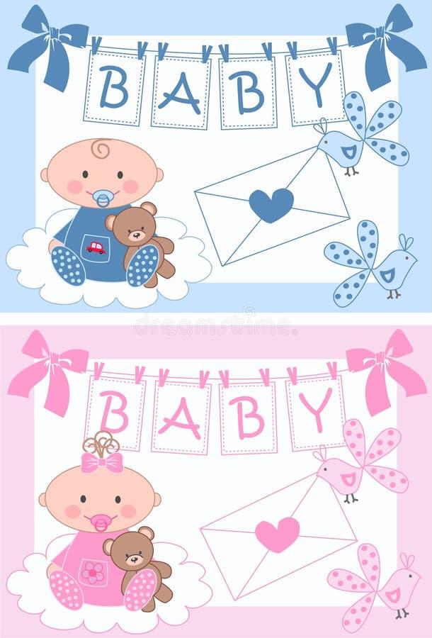 Bambino appena nato royalty illustrazione gratis